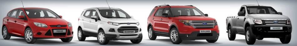 Модели и комплектации форд